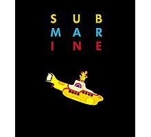 Submarine Photographic Print