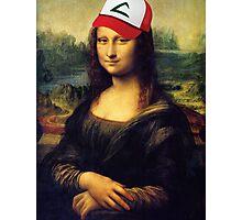 Pokémona Lisa Photographic Print