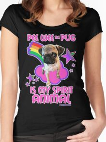Pee Wee is my Spirit Animal Women's Fitted Scoop T-Shirt