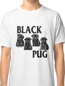 black pug Classic T-Shirt