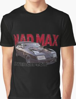 Mad Max Interceptor Graphic T-Shirt