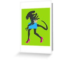 Fashion Is Universal. Greeting Card