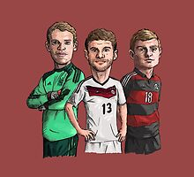 Germany - World cup winners by Ben Farr