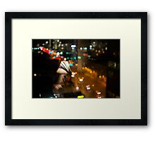 broad st Framed Print