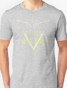 Faith Trust Instinct - Pokemon GO Unisex T-Shirt