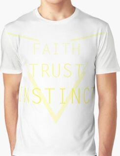 Faith Trust Instinct - Pokemon GO Graphic T-Shirt