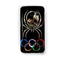 MEXICO SPIDER SKULL FLAG RINGS  Samsung Galaxy Case/Skin