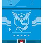 Team Mystic Pokemon Case by Designsbyangelr