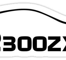 z32 300zx Outline Sticker