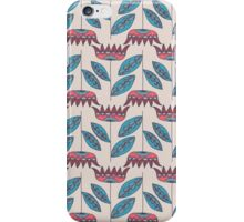 Field of red flowers iPhone Case/Skin
