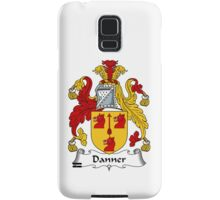 Danner Coat of Arms / Danner Family Crest Samsung Galaxy Case/Skin