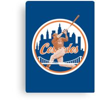 Yoenis Cespedes #52 - New York Mets Canvas Print