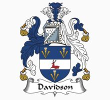 Davidson Coat of Arms / Davidson Family Crest by ScotlandForever