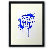 Autobot Transformers Framed Print
