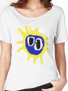 PRIMAL SCREAM RETRO SCREAMADELICA Women's Relaxed Fit T-Shirt