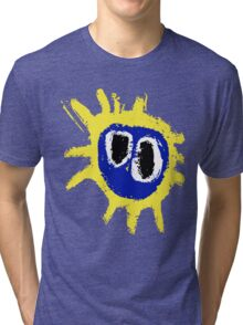 PRIMAL SCREAM RETRO SCREAMADELICA Tri-blend T-Shirt