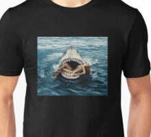 RIHANA BITTEN BY SHARK Unisex T-Shirt