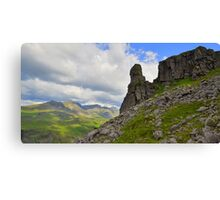 The Lake District: Eskdale Needle Canvas Print