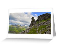 The Lake District: Eskdale Needle Greeting Card