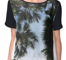 Palm trees Chiffon Top