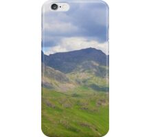 The Lake District: Scafell Range iPhone Case/Skin