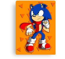 Tough Sonic Canvas Print