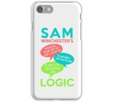 SAM WINCHESTER'S LOGIC iPhone Case/Skin