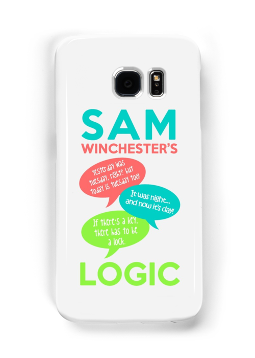 SAM WINCHESTER'S LOGIC by saltnburn