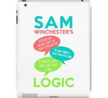 SAM WINCHESTER'S LOGIC iPad Case/Skin