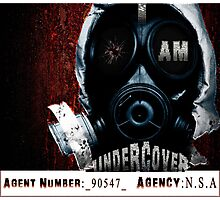 I Am Undercover Photographic Print