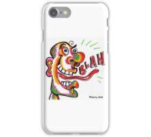 'BLAH!' iPhone Case/Skin