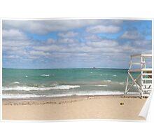 Oak Street Beach Poster