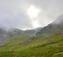 The Lake District: Early Morning on Scafell by Rob Parsons