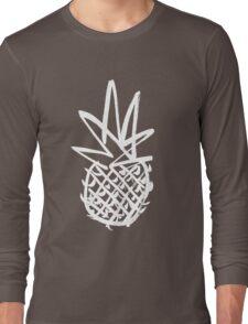 White pineapple  Long Sleeve T-Shirt