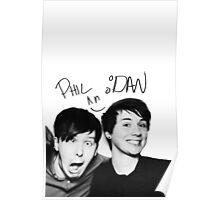 dan & phil Poster