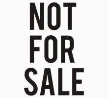 NOT FOR SALE by svmeedollvs