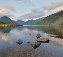The Lake District: Last Light at Wastwater by Rob Parsons