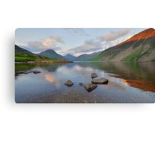 The Lake District: Last Light at Wastwater Canvas Print