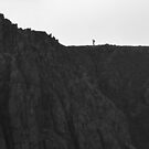 The Lake District: Lone Walker on Scoat Fell by Rob Parsons