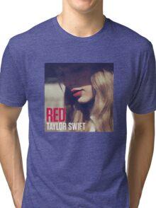 Red Album Tri-blend T-Shirt