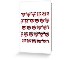 Koala Love Pattern  Greeting Card