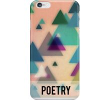 The Poetry Of Geometry 1 iPhone Case/Skin