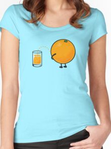 Orange Juice Women's Fitted Scoop T-Shirt