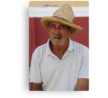 Cuban Farmer Canvas Print