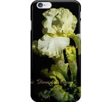 """Iris """"Devonshire Cream"""" iPhone Case/Skin"""