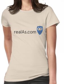 realAs.com tee - limited edition II Womens Fitted T-Shirt
