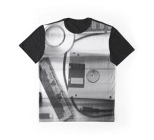 Leftover Tech - Black and White Graphic T-Shirt