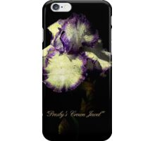 "Iris ""Presby's Crown Jewel"" iPhone Case/Skin"