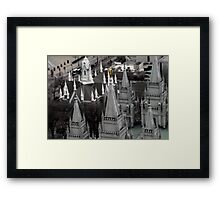 SLC LDS Temple From Above Framed Print