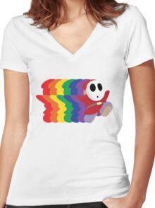 Noah Guy Women's Fitted V-Neck T-Shirt